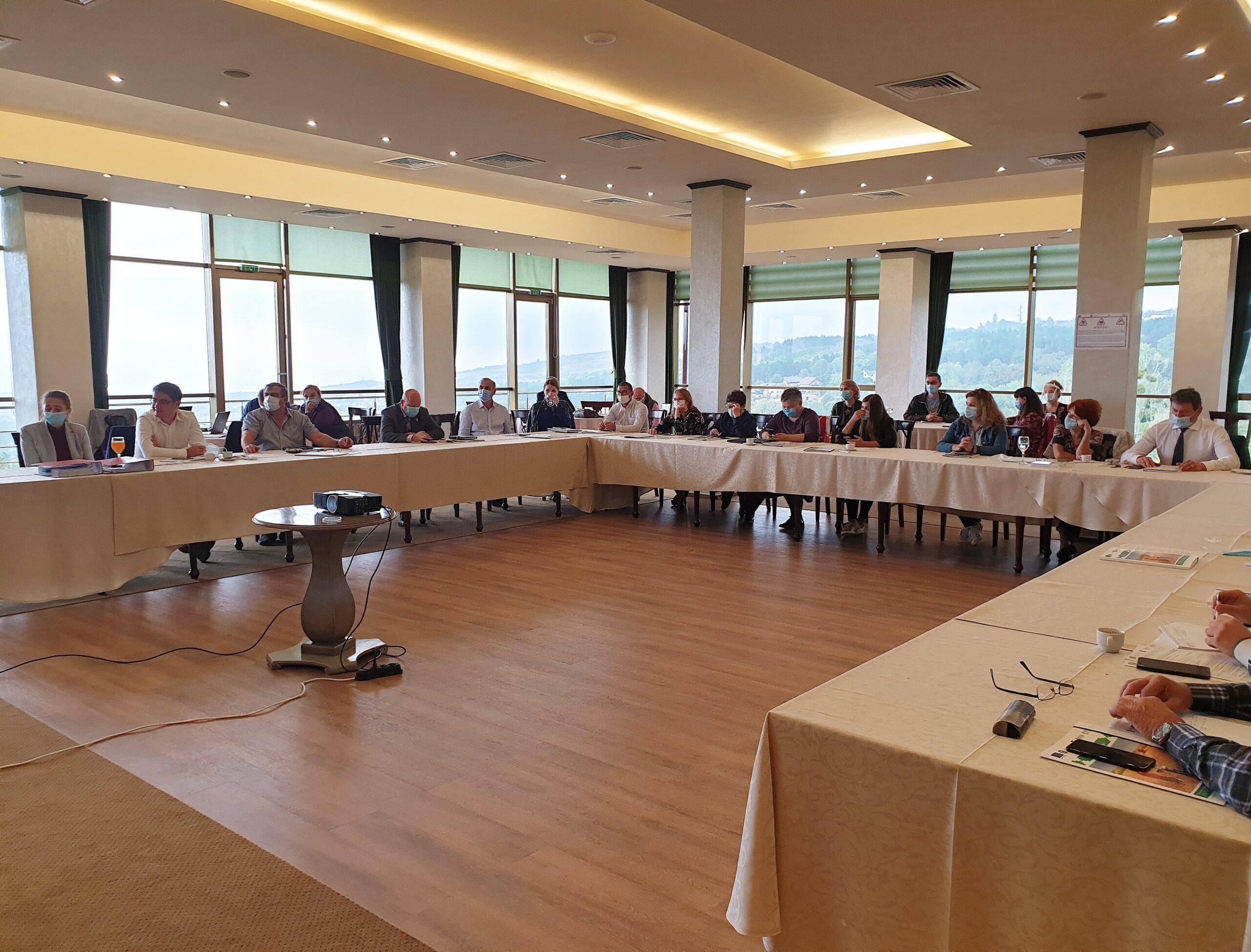 Sesiunea Grupului de Lucru LEADER, 5-8 octombrie, Iasi